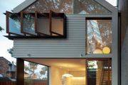 Фото 37 Планировка двухэтажного дома 8 на 8: варианты возведения и 85 лучших готовых проектов