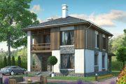 Фото 45 Планировка двухэтажного дома 8 на 8: варианты возведения и 85 лучших готовых проектов