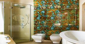 Панно из плитки в ванную: выбор настоящих эстетов и 80 утонченных интерьерных реализаций фото
