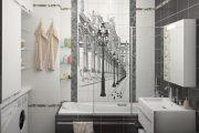 Фото 13 Панно из плитки в ванную: выбор настоящих эстетов и 80 утонченных интерьерных реализаций