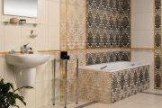 Фото 15 Панно из плитки в ванную: выбор настоящих эстетов и 80 утонченных интерьерных реализаций
