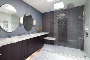 Фото 20 Панно из плитки в ванную: выбор настоящих эстетов и 80 утонченных интерьерных реализаций