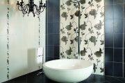 Фото 22 Панно из плитки в ванную: выбор настоящих эстетов и 80 утонченных интерьерных реализаций