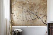 Фото 23 Панно из плитки в ванную: выбор настоящих эстетов и 80 утонченных интерьерных реализаций