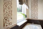 Фото 25 Панно из плитки в ванную: выбор настоящих эстетов и 80 утонченных интерьерных реализаций
