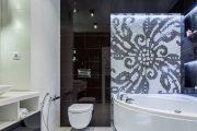 Фото 26 Панно из плитки в ванную: выбор настоящих эстетов и 80 утонченных интерьерных реализаций