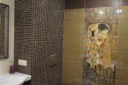 Фото 30 Панно из плитки в ванную: выбор настоящих эстетов и 80 утонченных интерьерных реализаций