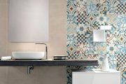 Фото 31 Панно из плитки в ванную: выбор настоящих эстетов и 80 утонченных интерьерных реализаций