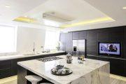 Фото 5 Парящий натяжной потолок: особенности конструкций и 95+ ультрасовременных реализаций для вашего дома (2019)