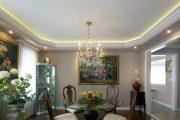 Фото 12 Парящий натяжной потолок: особенности конструкций и 95+ ультрасовременных реализаций для вашего дома (2019)