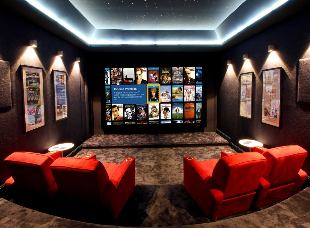 Best movie posters for theater room