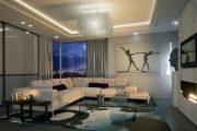 Фото 19 Парящий натяжной потолок: особенности конструкций и 95+ ультрасовременных реализаций для вашего дома (2019)