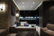 Фото 22 Парящий натяжной потолок: особенности конструкций и 95+ ультрасовременных реализаций для вашего дома (2019)