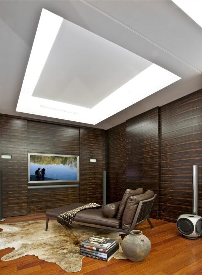 Красивая гостиная в стиле модерн