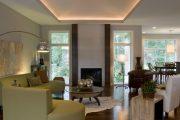Фото 31 Парящий натяжной потолок: особенности конструкций и 95+ ультрасовременных реализаций для вашего дома (2019)