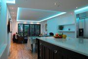 Фото 4 Парящий натяжной потолок: особенности конструкций и 95+ ультрасовременных реализаций для вашего дома (2019)