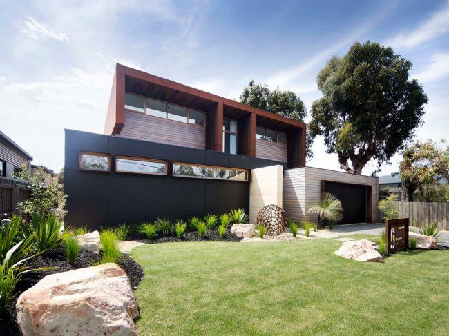 Дом, дизайн которого придумали сами, не только красивый, но и уникальный