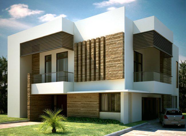 Проект частного дома в современном стиле