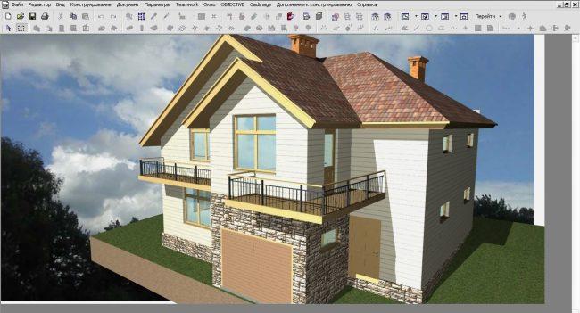 ArchiCAD - программный пакет для архитекторов, предназначен для проектирования архитектурно-строительных конструкций и решений, а также элементов ландшафта, мебели и т. п.