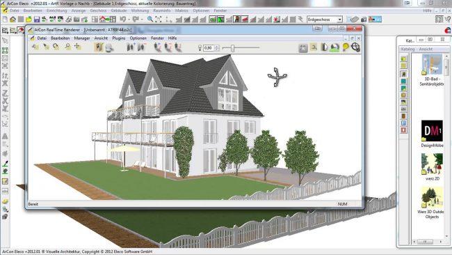 Программы для проектирования домов помогут справиться с проблемой визуализации своих идей для наглядного объяснения строительным бригадам «как должно быть»