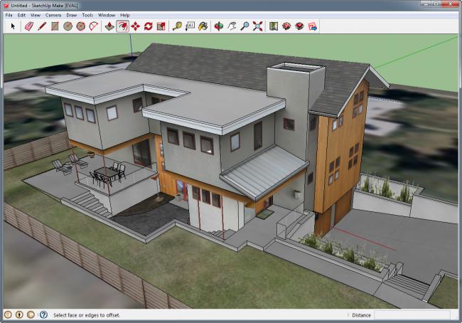 Большинство программ по моделированию домов имеет очень понятный русскоязычный интерфейс