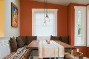 Фото 39 Скатерть на стол для кухни: эффектный аксессуар и 80 эстетически совершенных решений для дома