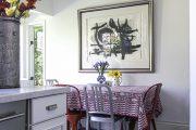 Фото 6 Скатерть на стол для кухни: эффектный аксессуар и 80 эстетически совершенных решений для дома