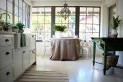 Фото 8 Скатерть на стол для кухни: эффектный аксессуар и 80 эстетически совершенных решений для дома