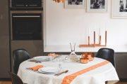 Фото 13 Скатерть на стол для кухни: эффектный аксессуар и 80 эстетически совершенных решений для дома