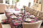 Фото 20 Скатерть на стол для кухни: эффектный аксессуар и 80 эстетически совершенных решений для дома