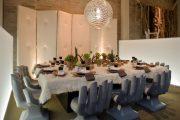 Фото 21 Скатерть на стол для кухни: эффектный аксессуар и 80 эстетически совершенных решений для дома