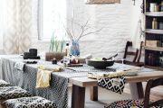 Фото 30 Скатерть на стол для кухни: эффектный аксессуар и 80 эстетически совершенных решений для дома