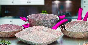Сковорода с мраморным покрытием: обзор преимуществ и полезные советы по эксплуатации фото