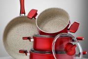 Фото 14 Сковорода с мраморным покрытием: обзор преимуществ и полезные советы по эксплуатации