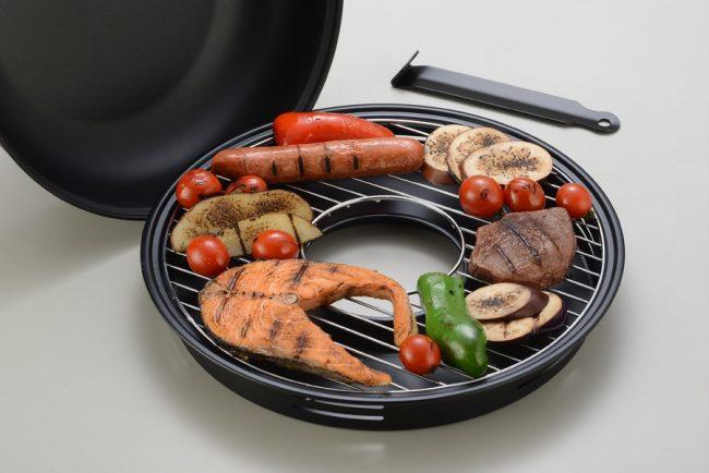 Ваше блюдо не подгорит и останется сочным в любую погоду
