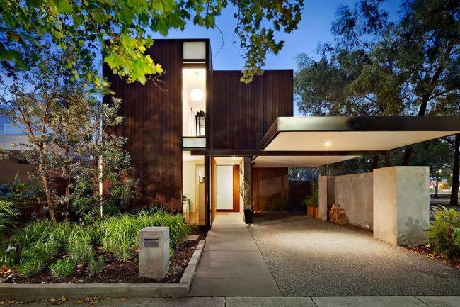 Современный жилой дом в стиле модерн
