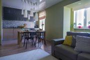 Фото 13 Тканевые натяжные потолки: особенности монтажа и 75 стильных решений для дома