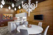 Фото 15 Тканевые натяжные потолки: особенности монтажа и 75 стильных решений для дома