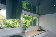 Фото 23 Тканевые натяжные потолки: особенности монтажа и 75 стильных решений для дома