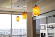 Фото 26 Тканевые натяжные потолки: особенности монтажа и 75 стильных решений для дома