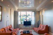 Фото 28 Тканевые натяжные потолки: особенности монтажа и 75 стильных решений для дома
