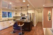 Фото 29 Тканевые натяжные потолки: особенности монтажа и 75 стильных решений для дома
