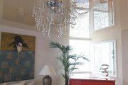 Фото 33 Тканевые натяжные потолки: особенности монтажа и 75 стильных решений для дома