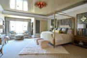 Фото 37 Тканевые натяжные потолки: особенности монтажа и 75 стильных решений для дома