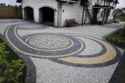 Фото 21 Тротуарная плитка для дорожек на даче: укладка своими руками и 80+ долговечных и оригинальных примеров оформления
