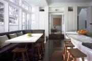 Фото 18 Угловой диван на кухню со спальным местом: как сделать кухонное пространство максимально комфортным и 75+ фотоидей