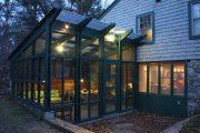 Фото 10 Пристроенная к дому веранда из поликарбоната: особенности возведение и 70+ стильных и надежных конструкций