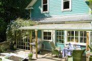 Фото 11 Пристроенная к дому веранда из поликарбоната: особенности возведение и 70+ стильных и надежных конструкций