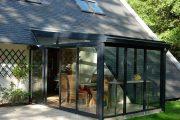 Фото 18 Пристроенная к дому веранда из поликарбоната: особенности возведение и 70+ стильных и надежных конструкций