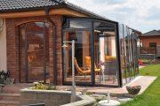 Фото 22 Пристроенная к дому веранда из поликарбоната: особенности возведение и 70+ стильных и надежных конструкций